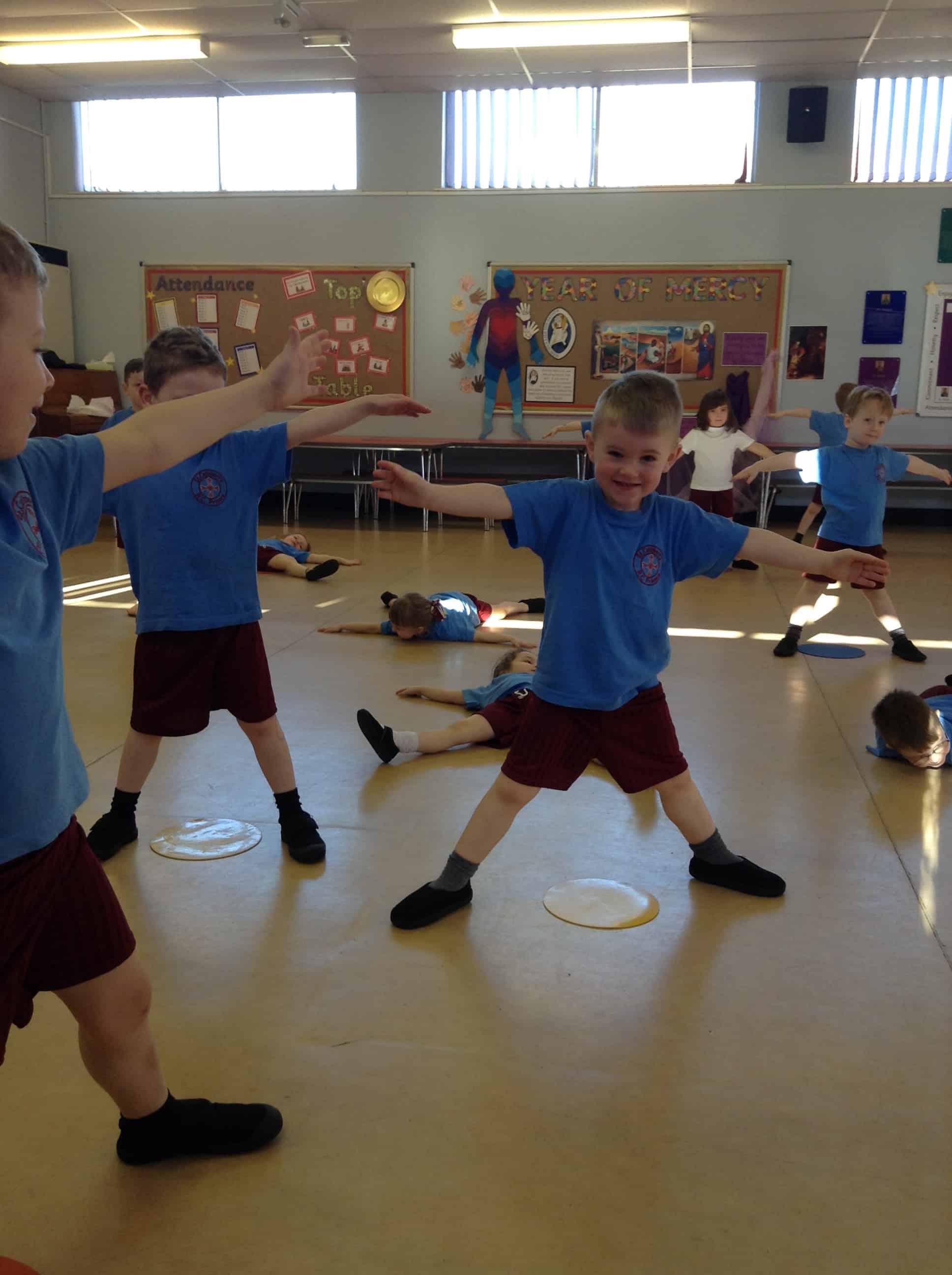 Reception – Gymnastics – St. Cuthbert's Primary School