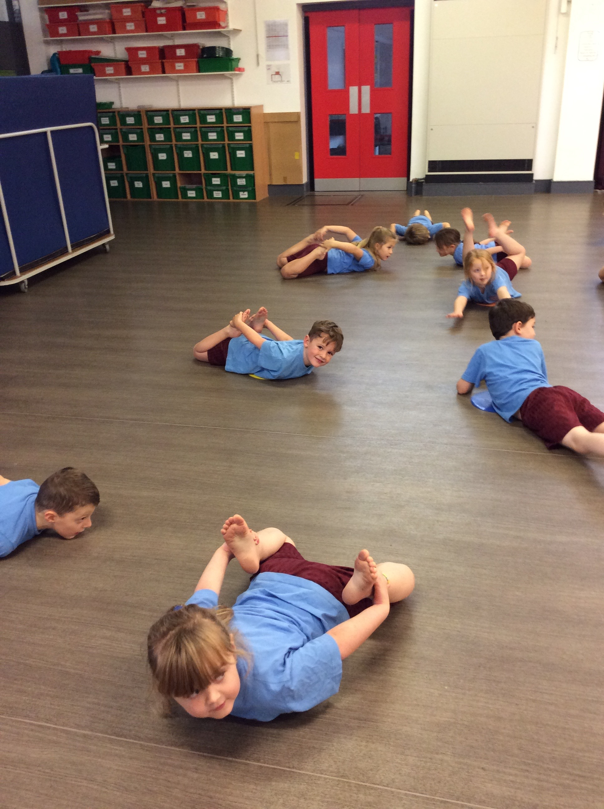 Year 1 Pe With Ailsa St Cuthbert S Primary School
