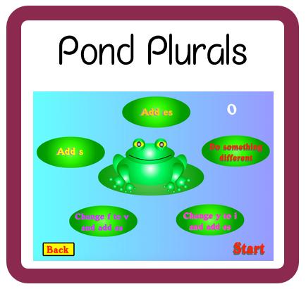 Pond Plurals